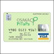 OSAKA PiTaPa JCBカード/ 電車代 ...