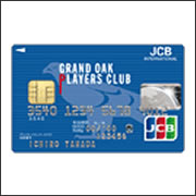 GRAND OAK PLAYERS CLUB JCB CARD