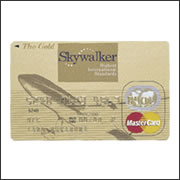 HIS skywalker gold mastercard