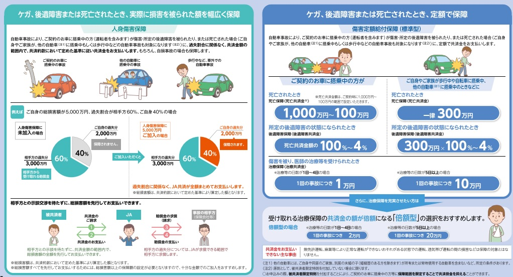 自動車 保険 共済 ja