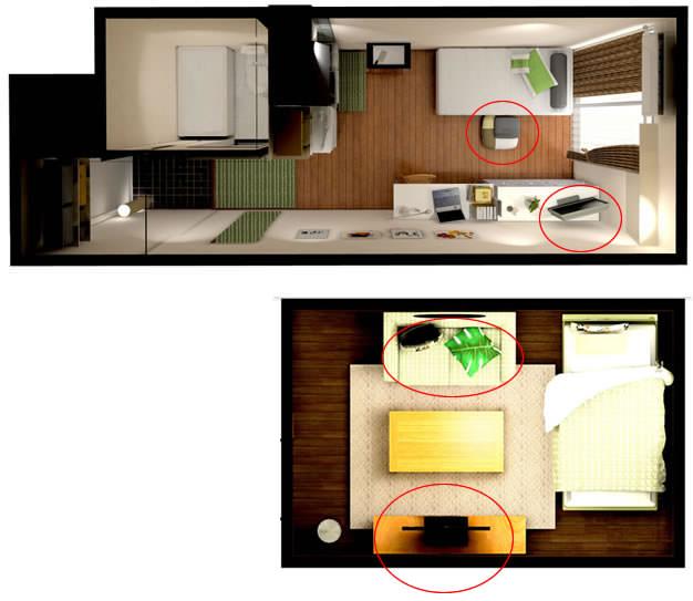 Six Mat Room